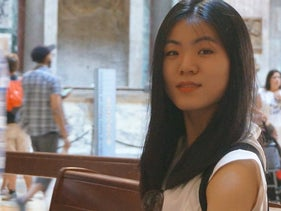 Hui Rou, a doctoral student in Hebrew literature at the University of Cambridge, Middlebury, Vermont, August 2019.