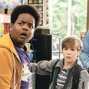 """Keith L. Williams (left) and Jacob Tremblay in """"Good Boys."""""""