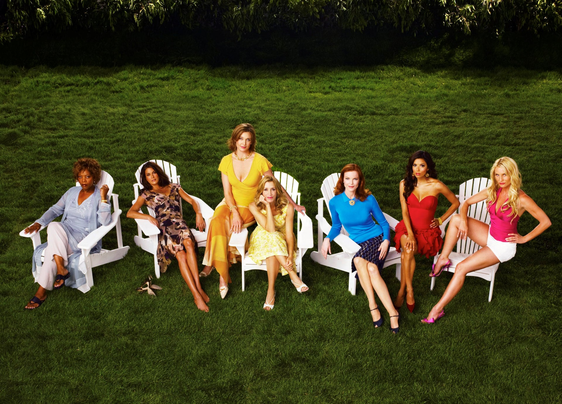 """Cast members of """"Desperate Housewives."""" 'I was always obsessed with American TV shows. What taught me English was 'Desperate Housewives.''"""