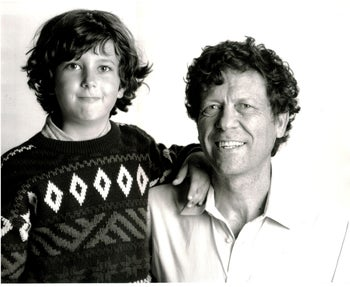 Undated photo of Danny and David Cohen.