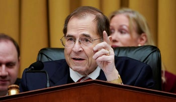 Chairman of the House Judiciary Committee Jerry Nadler speaks in Washington, U.S., March 26, 2019.