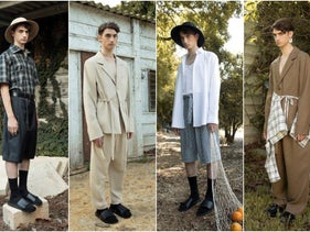 From Or Yair Bitton's latest collection for men.