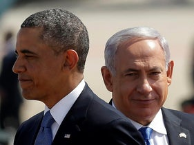 Obama and Netanyahu meet in Israel, March 20, 2013.