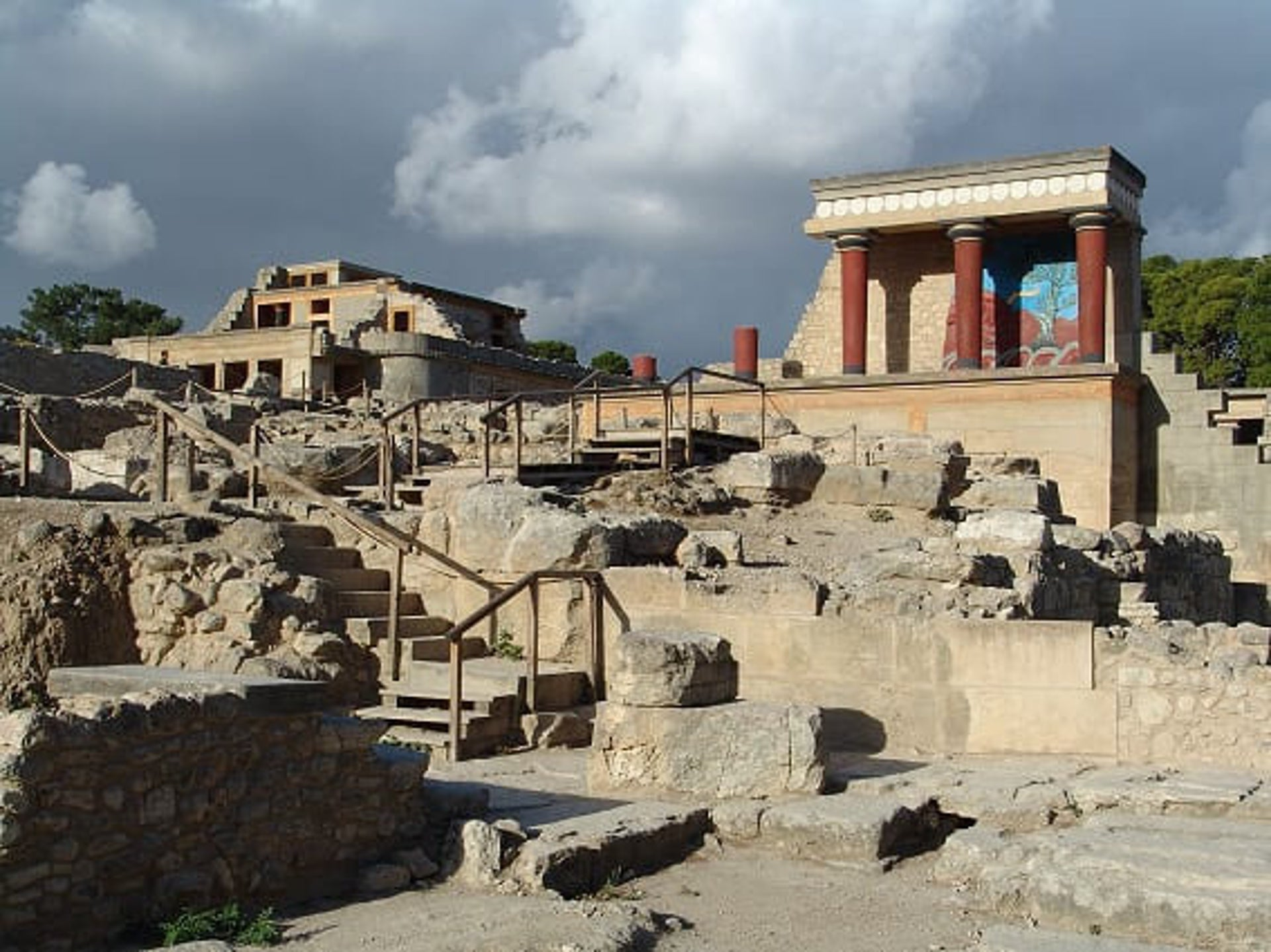 Knossos palace, Crete: The hub of Minoan civilization