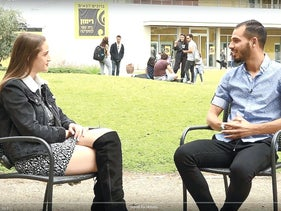 An interview with Hala Shabab, the channel's news magazine for youth.