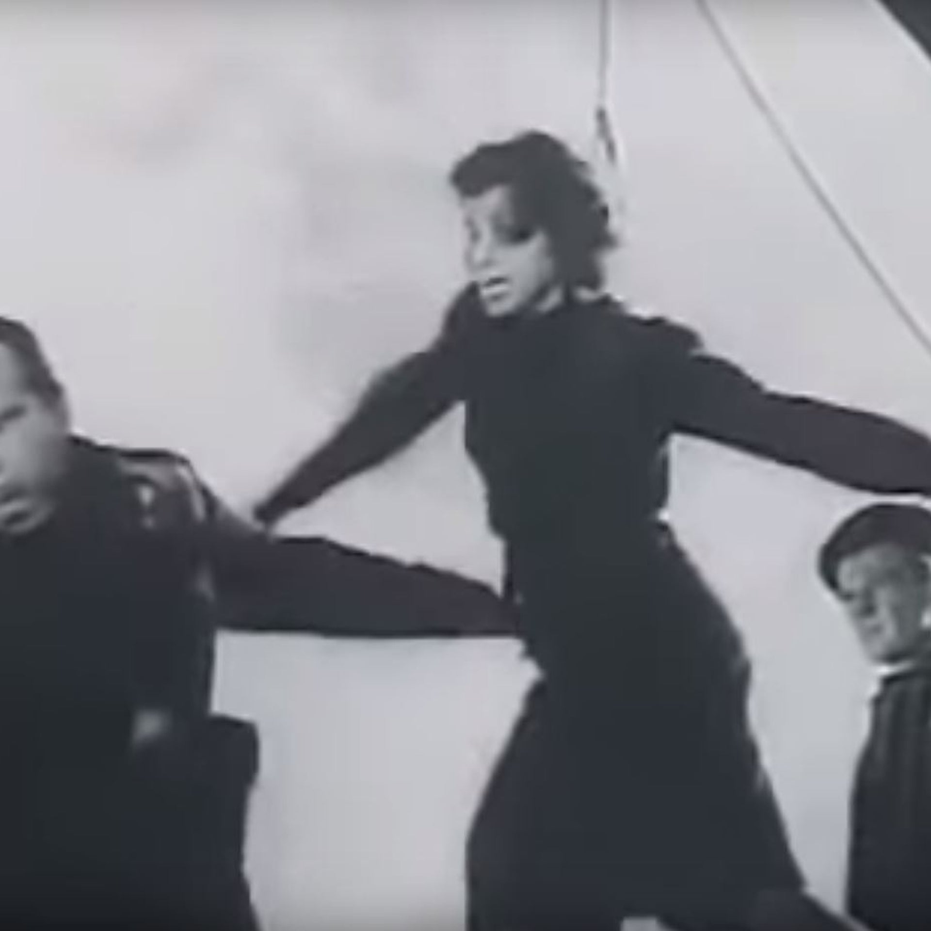 The execution scene from 'The Last Stage.'