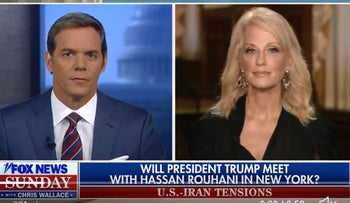 Trump ready to tap oil reserve, doesn't rule out Iran meeting, says Conway
