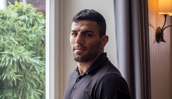 Iranian judoka Saeid Mollaei poses for a portrait photo at an undisclosed southern city of Germany, September 12, 2019.