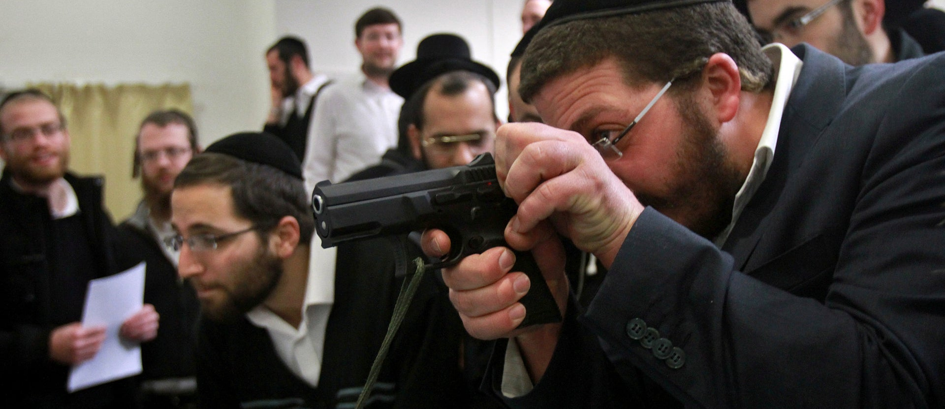 A new issue close to the American right, also formerly unheard of in Israeli politics, was recently added to the religious right's agenda: gun rights