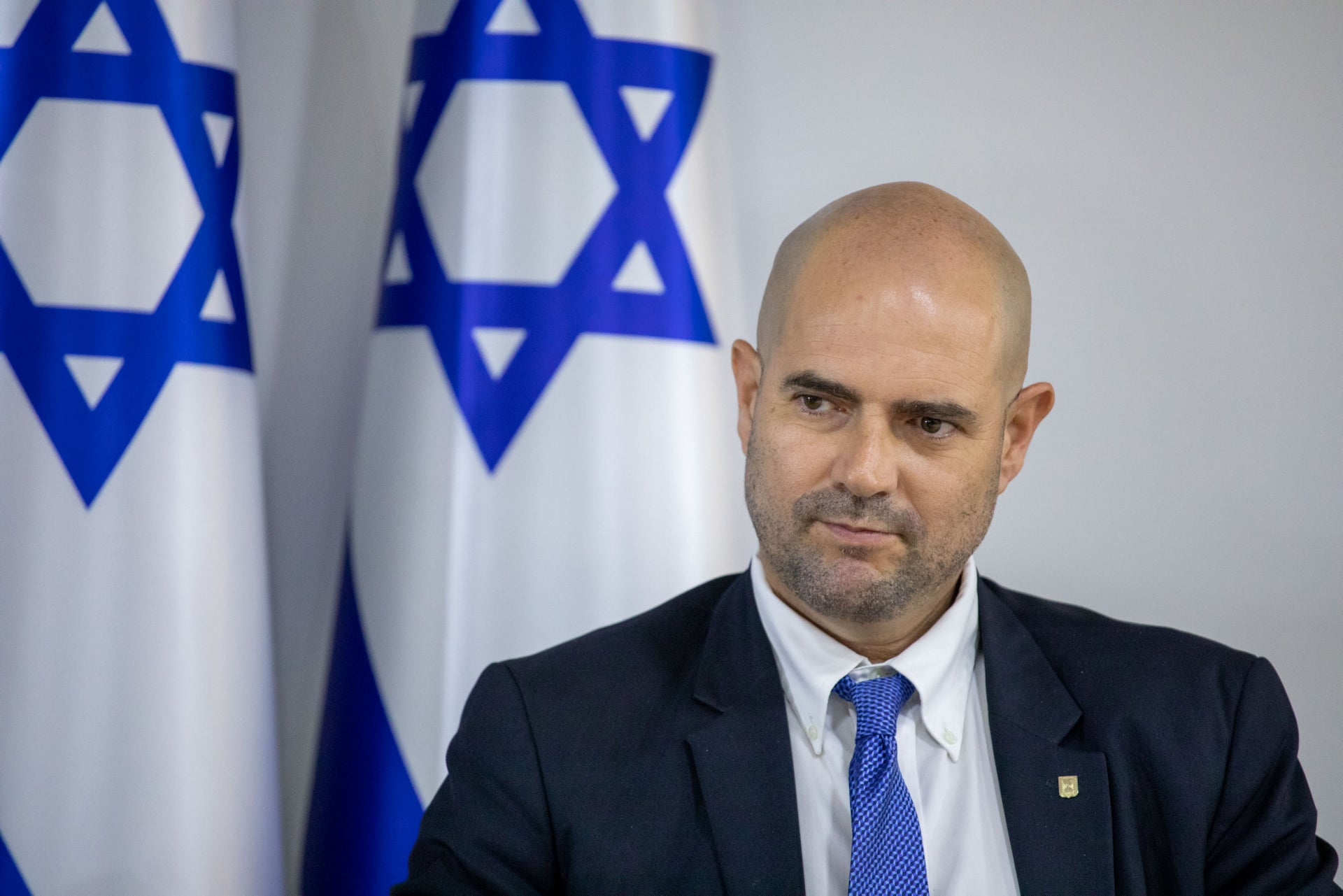 Amir Ohana, Israel's transition justice minister, is close to the new right's political infrastructure and has pushed for loosening Israel's gun laws.
