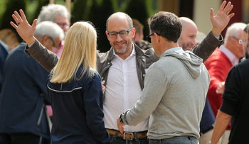 Dick Costolo, former CEO of Twitter, attends the Allen and Co. Sun Valley media conference in Sun Valley, Idaho, U.S., July 10, 2019.