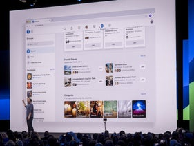 Mark Zuckerberg speaks during the F8 Developers Conference in San Jose, April 30, 2019.