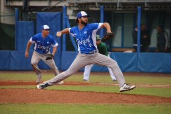 Israeli pitching let up only 11 runs in the blue and white's five games in the September 2019 Olympic qualifiers in Italy.