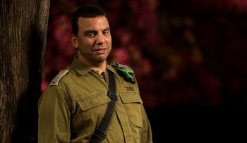 Brig. Gen. Eran Niv, 49, the outgoing commander of the Judea and Samaria Division of the Israel Defense Forces.