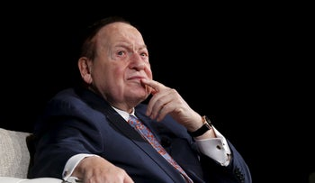 Sheldon Adelson during a news conference in Macau, China December 18, 2015.