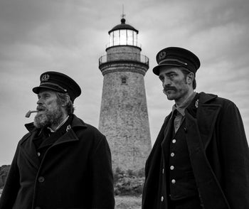 'The Lighthouse.' Was the most talked-about film on the sidelines at Cannes.
