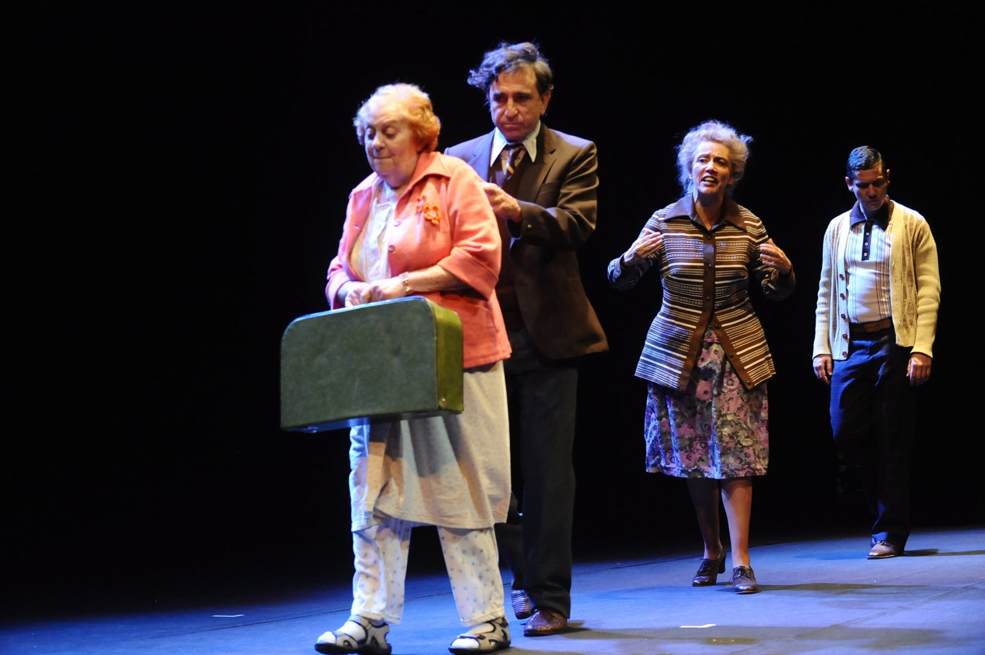 """An Israeli production of """"The Suitcase Packers"""" from 2014."""