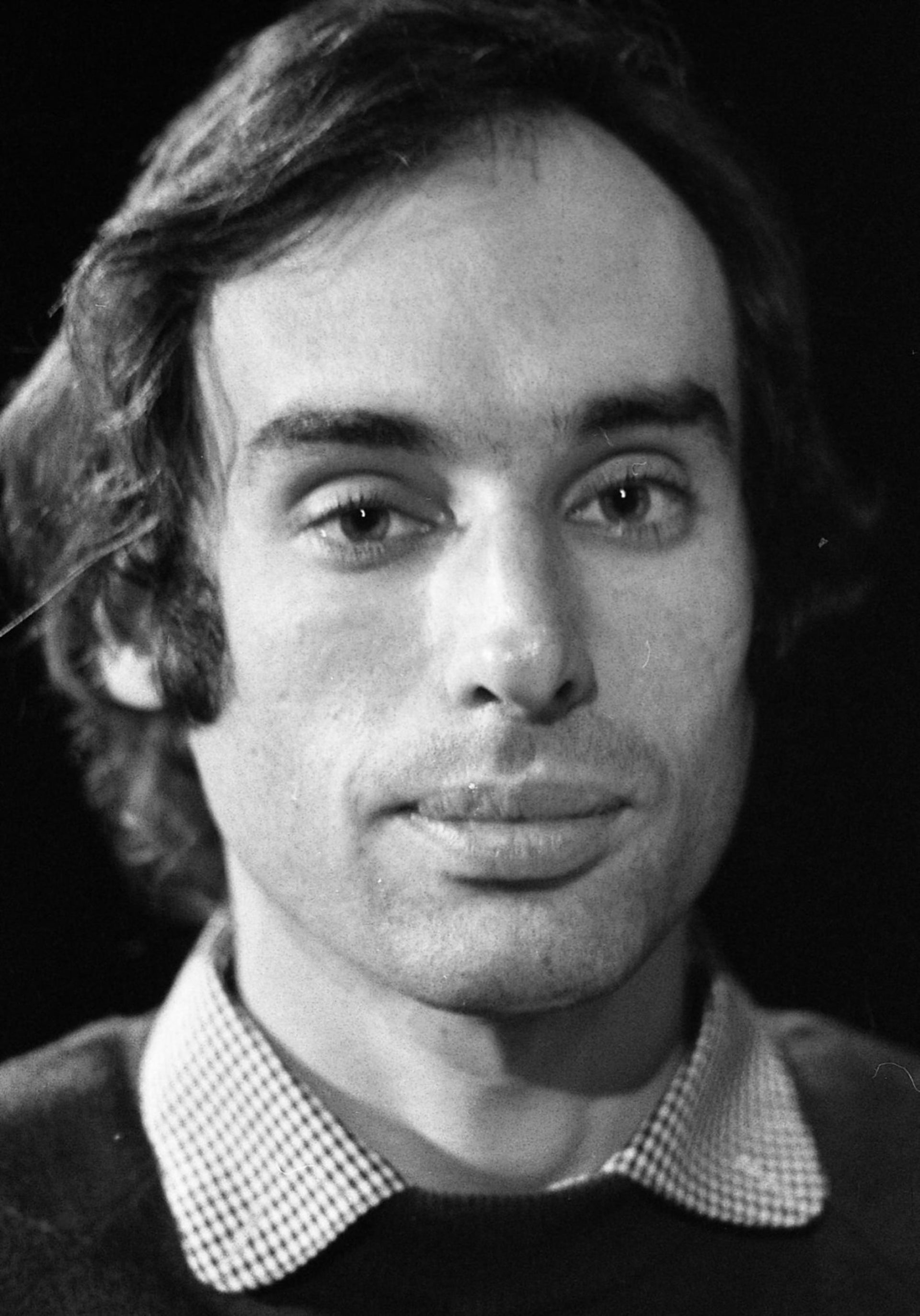 Israeli playwright Hanoch Levin, who died from bone cancer at age 56 in August 1999.