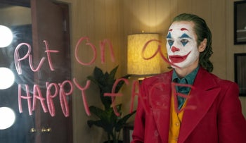 Joaquin Phoenix as the Joker in Todd Phillips' new origin story about Batman's archnemesis.