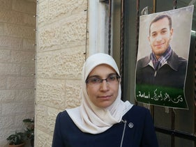 Lama Khater, a Palestinian journalist harshly interrogated by the Shin Bet in 2018.