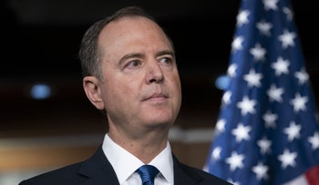'The thinking man's congressman'- Schiff was charged with leading the impeachment inquiry against President Donald Trump