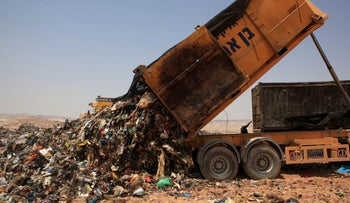 The Efeh landfill in southern Israel.