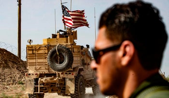 U.S. forces in Syria, October 6, 2019.