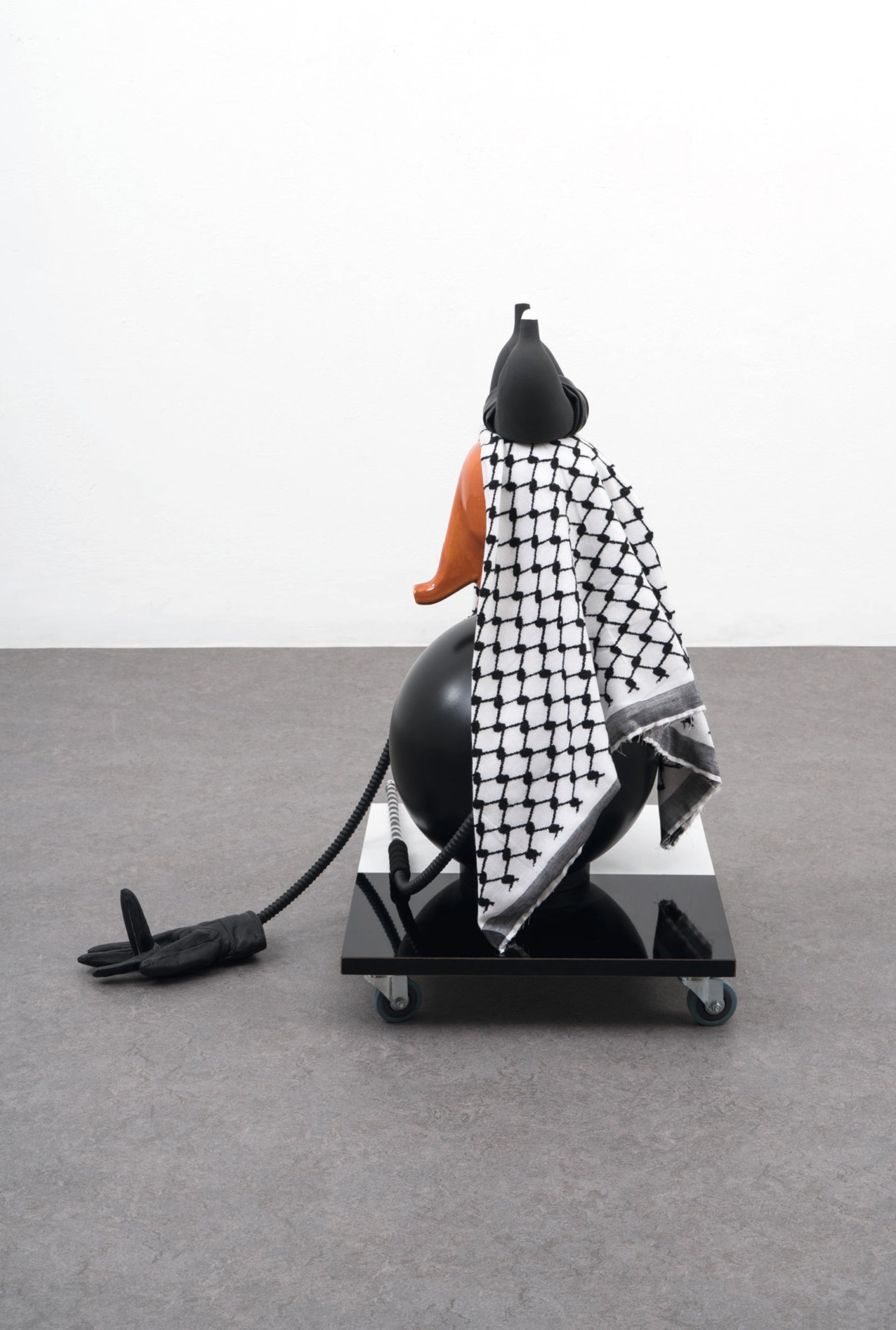 One of the pieces of art by Israeli artist Yael Yudkovik.