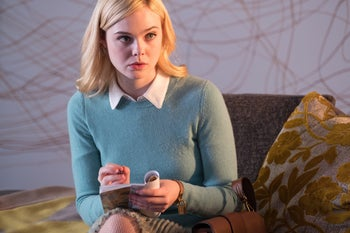 """Elle Fanning in  in """"A Rainy Day in New York."""""""