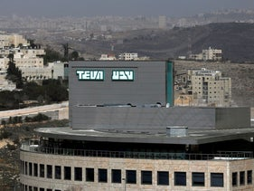 A building belonging to Teva Pharmaceutical Industries, the world's biggest generic drugmaker and Israel's largest company, is seen in Jerusalem February 8, 2017.