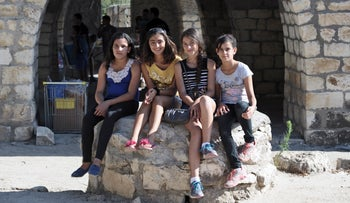 Aramean Christians at  the Aramean Heritage Camp in Baram National Park, Israel, in 2014.