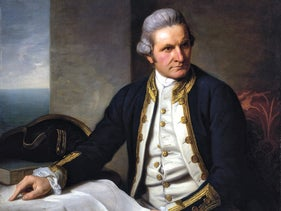 """Captain James Cook,"" by Nathaniel Dance-Holland (1775-76)."