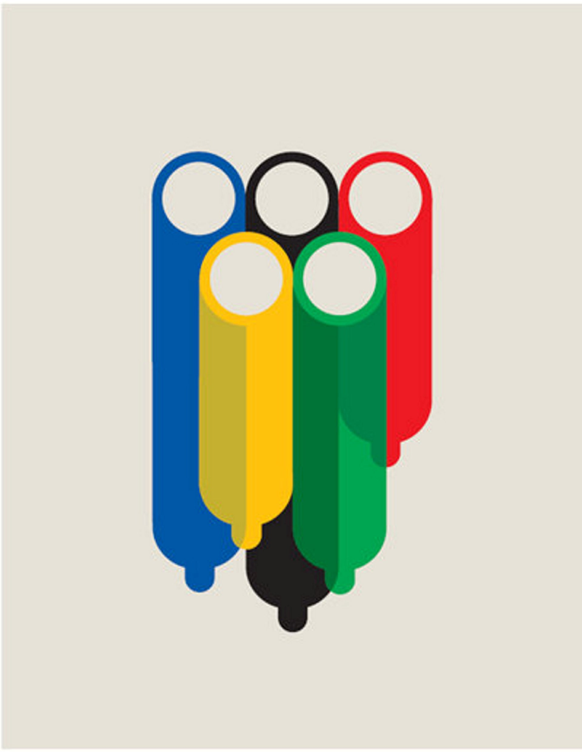 Illustration for an article on sex at the Olympics, ESPN magazine, 2013