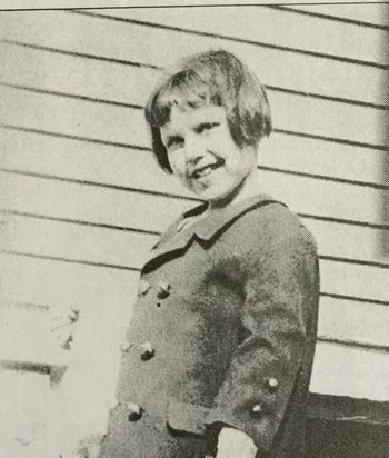 Barbara Griffiths at age 4.