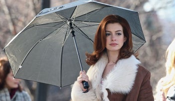 "Anne Hathaway as Lexi, a bipolar lawyer struggling to cope with her disorder, in ""Modern Love."""