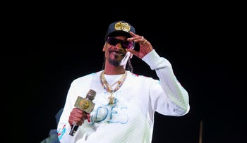 Snoop Dogg performs onstage at State Farm Arena in Atlanta, Georgia, January 5, 2019.