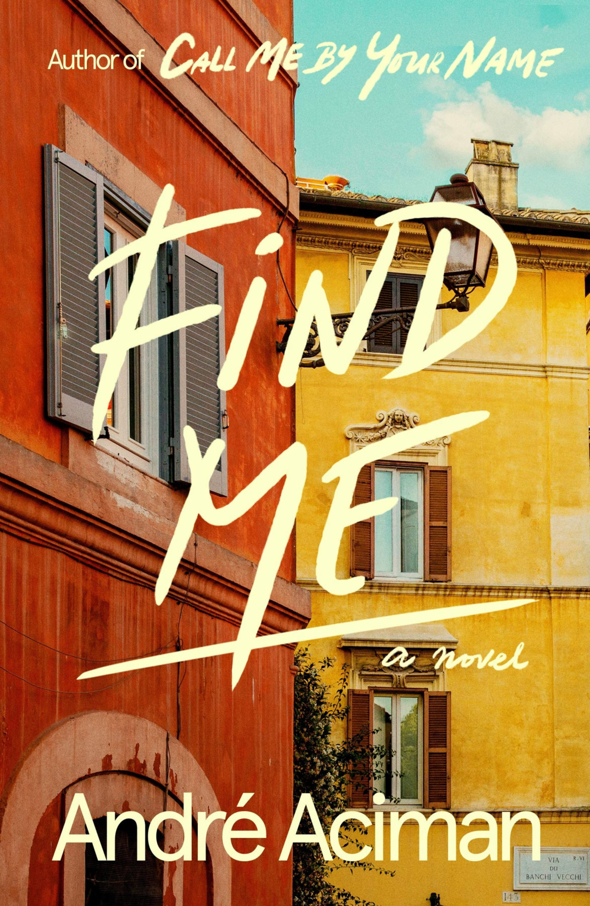 """The cover of """"Find Me."""""""