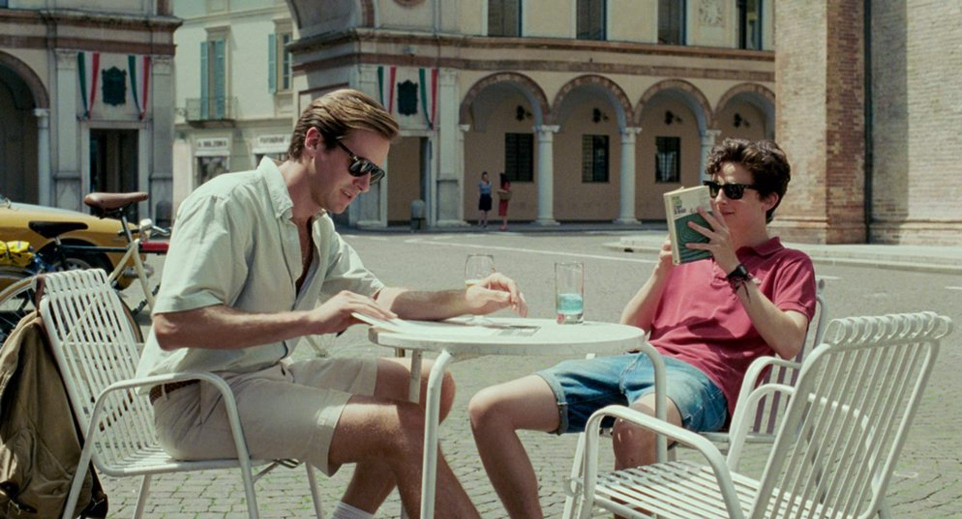 Timothée Chalamet and Armie Hammer in 'Call Me by Your Name.'