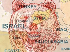 Illustration: is Russia taking over the Middle East?