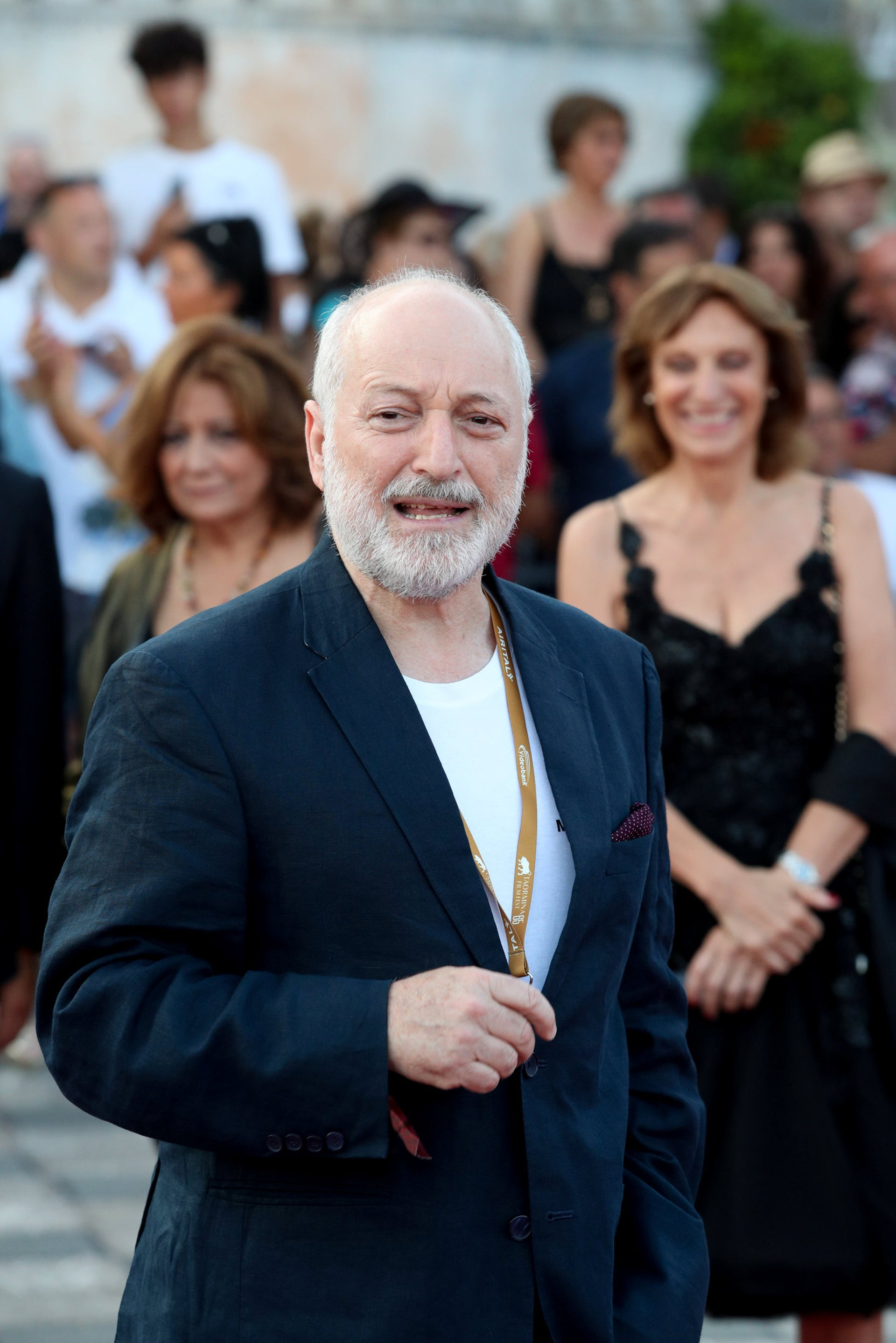 Author André Aciman attends the 65th Taormina Film Festival in Taormina, Italy, on June 30, 2019.