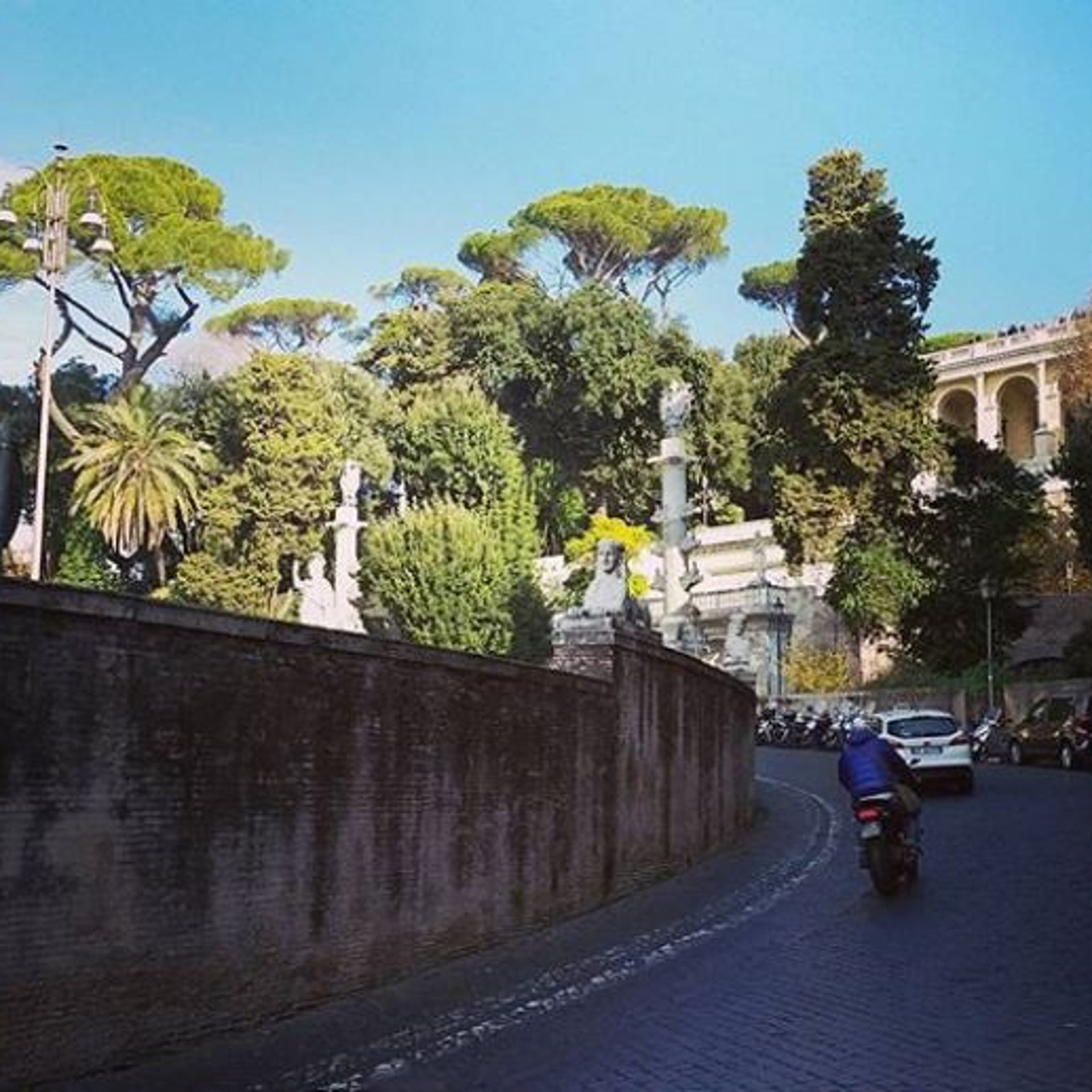 Rome. At the center of 'Find me.'
