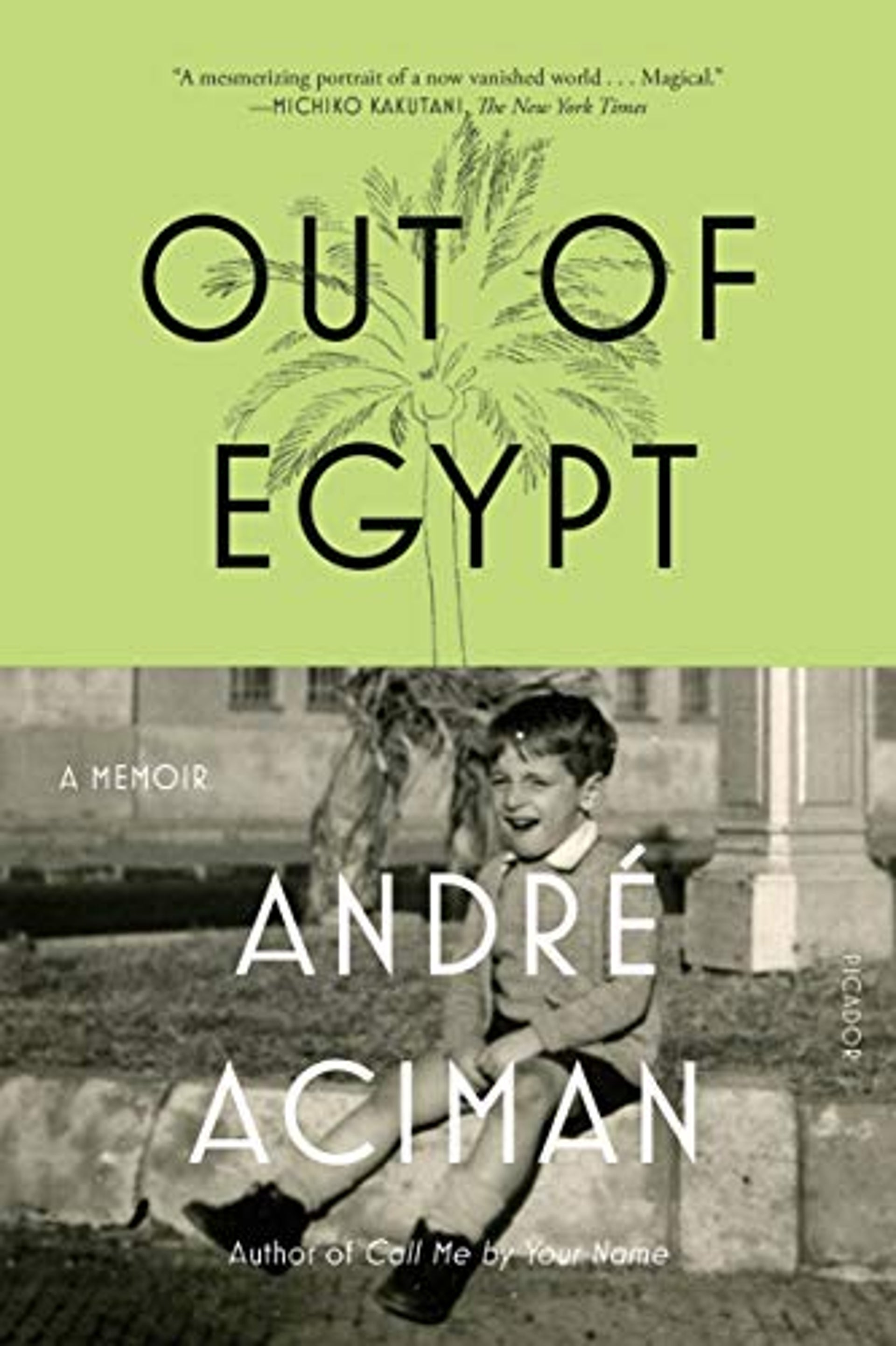 The cover of Aciman's 'Out of Egypt: A Memoir'.