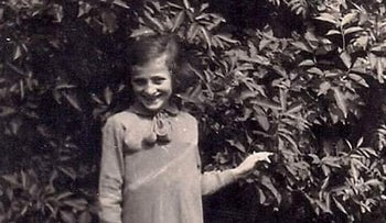 Rachel Mintz, an 11-year-old girl from the town of Zarki in Poland who was killed in the Holocaust.