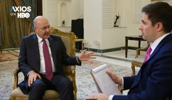 """Iraqi president on the U.S. pullback from Syria: """"It is truly dangerous"""""""