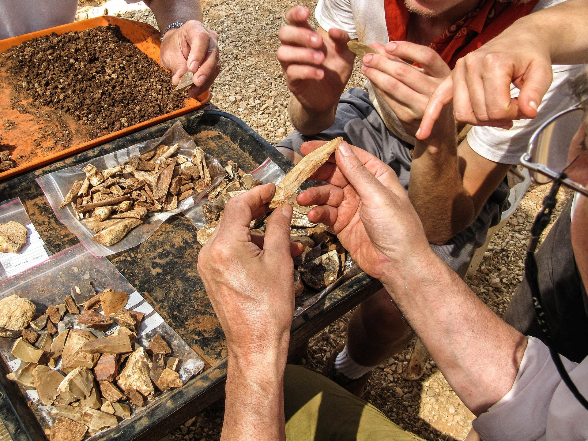 Prehistoric stone tools found in Manot cave