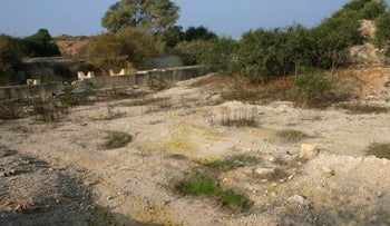 A site that formerly housed an IMI factory, Nof Yam Herzliya, Israel, 2010.