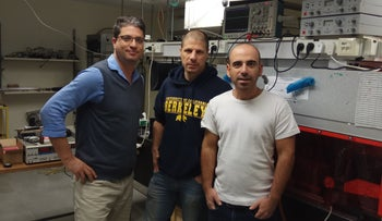 The company was founded in 2016 by Yaron Shenhav, an electro-optics engineer; Vice President of Finance Gadi Grottas and Hebrew University of Jerusalem physics professor Guy Ron