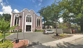 The Toshnad Heichel Torah Utfila synagogue, Monsey, NY, near which a man was stabbed on November 20, 2019