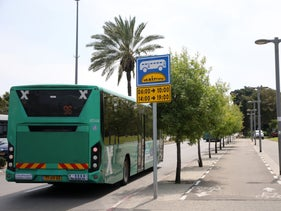 An Israeli bus of the company Eged.