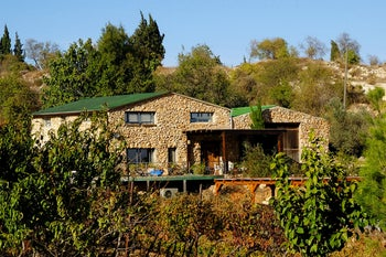 The home of Yaakov Berg, Psagot winery's CEO.